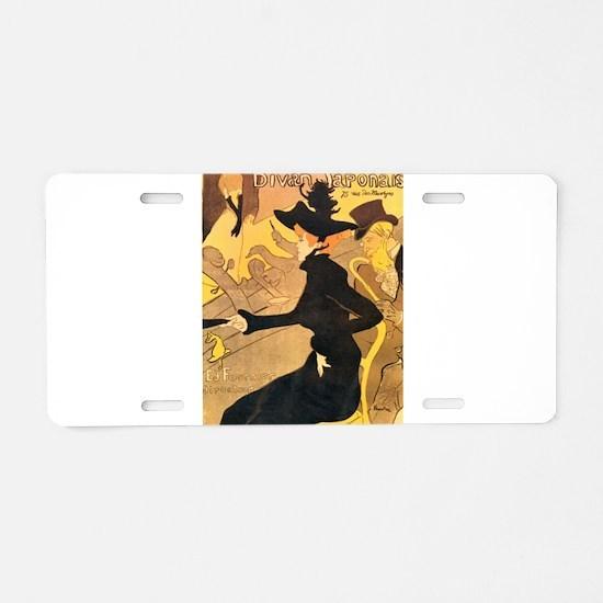 Divan Japonais by Toulouse-Lautrec Aluminum Licens
