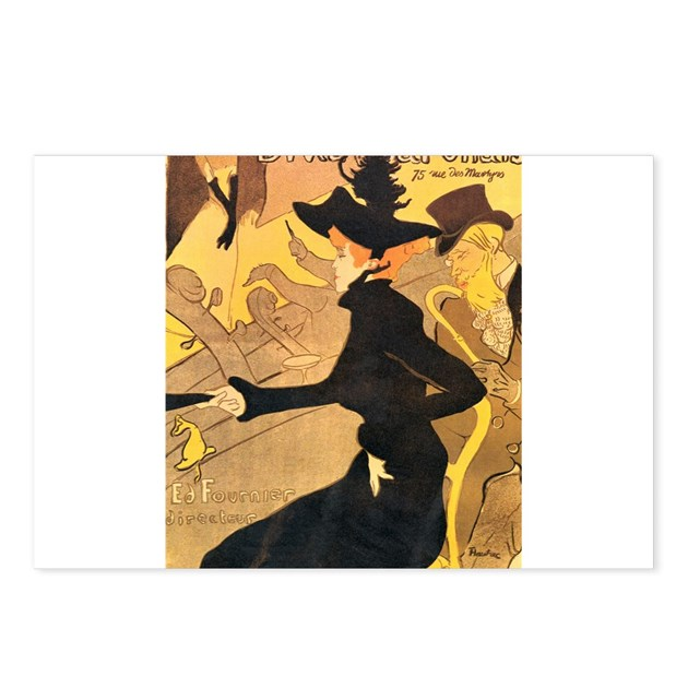 Divan japonais by toulouse lautrec postcards pack by for Divan japonais toulouse lautrec