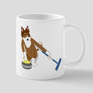 Shetland Sheepdog Curling Mug