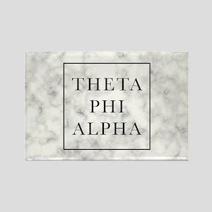 Theta Phi Alpha Marble FB Rectangle Magnet