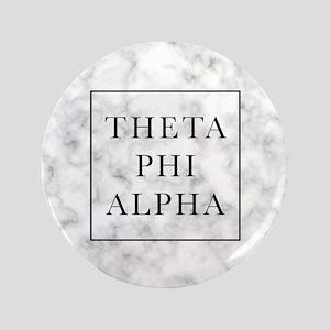 """Theta Phi Alpha Marble FB 3.5"""" Button"""