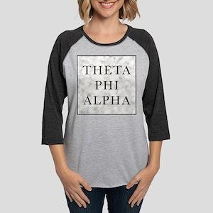 Theta Phi Alpha Marble Square Womens Baseball Tee