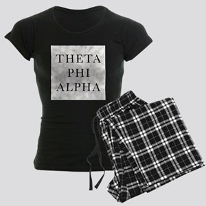 Theta Phi Alpha Marble Squar Women's Dark Pajamas