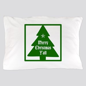 Merry Christmas Yall Pillow Case