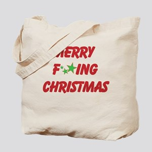 Merry F ing Christmas Tote Bag