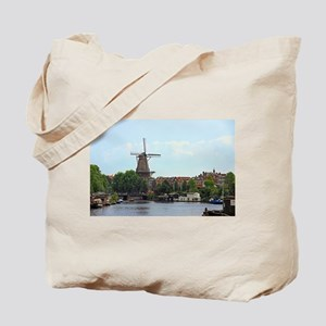 Amsterdam Windmill Tote Bag