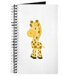 Cute Baby Giraffe Journal