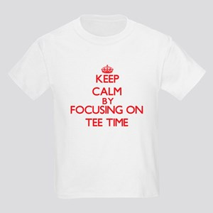 Keep Calm by focusing on Tee Time T-Shirt