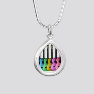 Colorful Guitars Necklaces