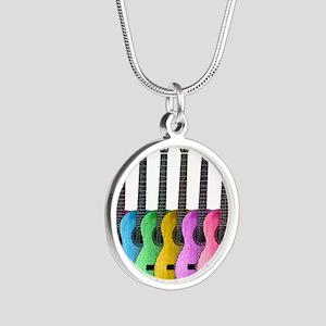 Colorful Guitars Necklaces