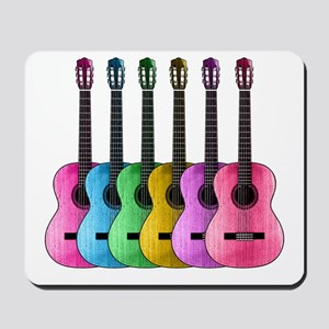 Colorful Guitars Mousepad