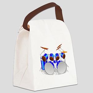 Drum Set Canvas Lunch Bag