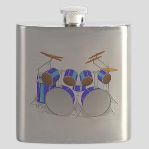 Drum Set Flask