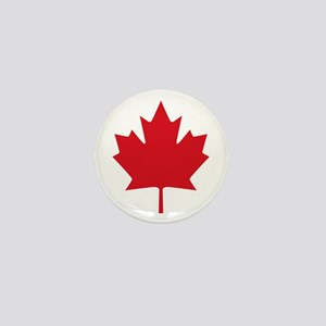 Canada flag Mini Button