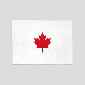 Canada flag 5'x7'Area Rug