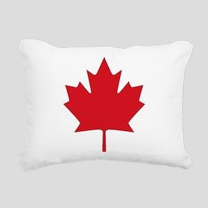Canada flag Rectangular Canvas Pillow