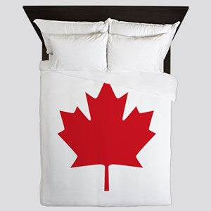 Canada flag Queen Duvet