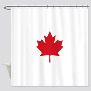 Canada flag Shower Curtain
