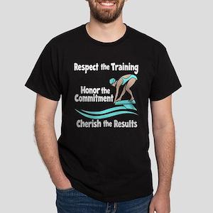 CHERISH SWIMMING Dark T-Shirt