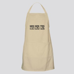 Sex is Not the Answer Apron
