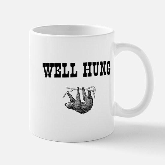 Sloth Well Hung Mugs