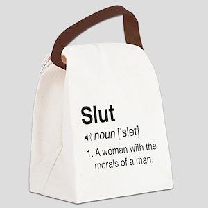Slut Definition Canvas Lunch Bag