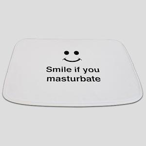 Smile if You Masturbate Bathmat