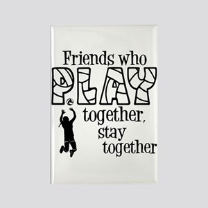 PLAY TOGETHER Rectangle Magnet