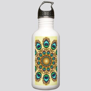 peacock feathers Stainless Water Bottle 1.0L