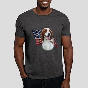 Welsh Springer Flag Dark T-Shirt