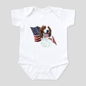 Welsh Springer Flag Infant Bodysuit