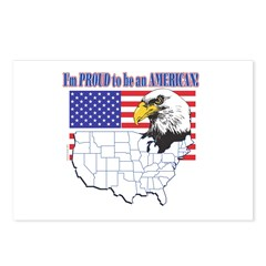 Proud to be an American Postcards (Package of 8)
