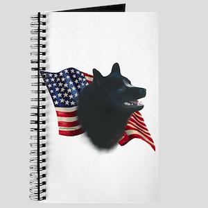 Schipperke Flag Journal