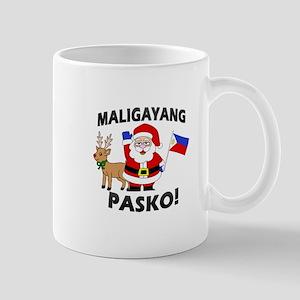 Santa's Maligayang Pasko! Mug Mugs