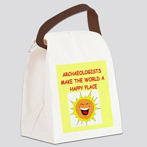 ARCHAEOLOGIST Canvas Lunch Bag