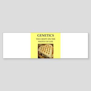 GENETICS Bumper Sticker