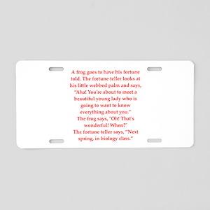 39 Aluminum License Plate