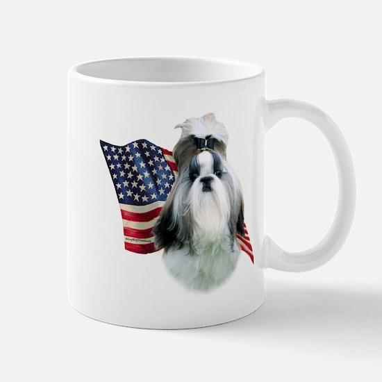 Shih Tzu Flag2 Mug