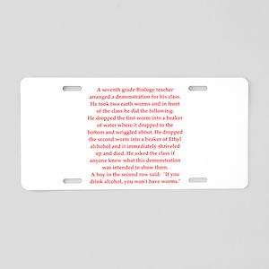 3 Aluminum License Plate