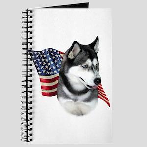Husky(blk) Flag Journal
