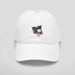 Husky(blk) Flag Cap