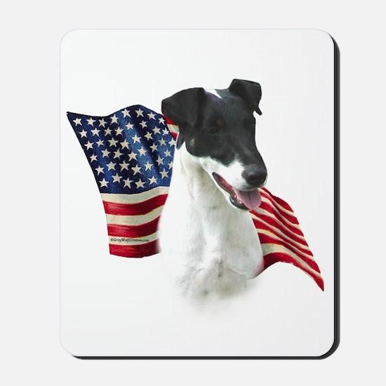Smooth Fox Flag Mousepad