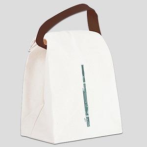 Bassoon Canvas Lunch Bag