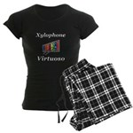 Xylophone Virtuoso Women's Dark Pajamas