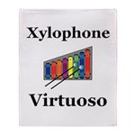 Xylophone Virtuoso Throw Blanket