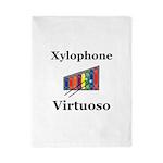 Xylophone Virtuoso Twin Duvet