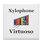 Xylophone Virtuoso Tile Coaster