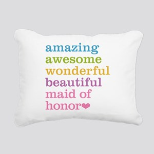 Maid Of Honor Rectangular Canvas Pillow