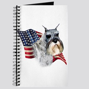 Schnauzer Flag Journal