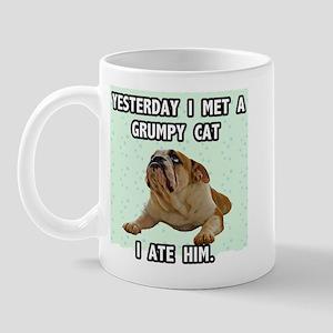 Grumpy Dog Sez Mug